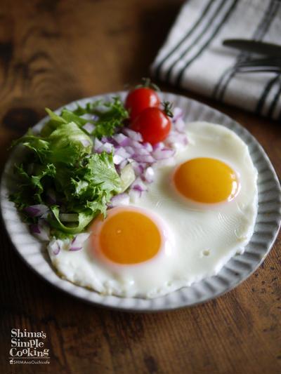 綺麗な黄身の目玉焼きを作るコツ|SNS映え|【半熟目玉焼き】|目玉焼きの美味しい食べ方
