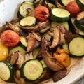 夏野菜のオーブン焼きアンチョビー風味