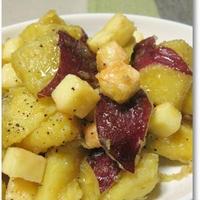 ◆焼けるチーズ&さつま芋のメープル♪