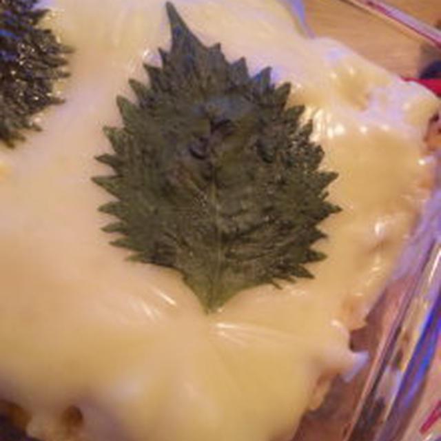 紫蘇とチーズがヤバメな和風ドリア