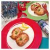鮭とクリチの簡単カナッペ
