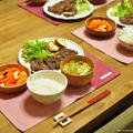 ≪レシピ≫牛薄切り肉のミルフィーユステーキと、すぅと喧嘩(T△T)