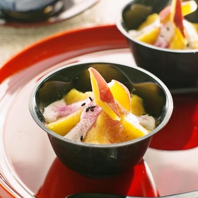 卵不使用の簡単お菓子♡さつまいもとミルクでスイートポテトグラタン♡お仕事で大阪へ(再)