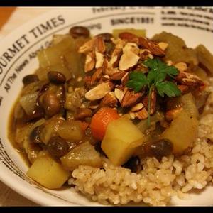 コロコロ野菜の南国風カリー
