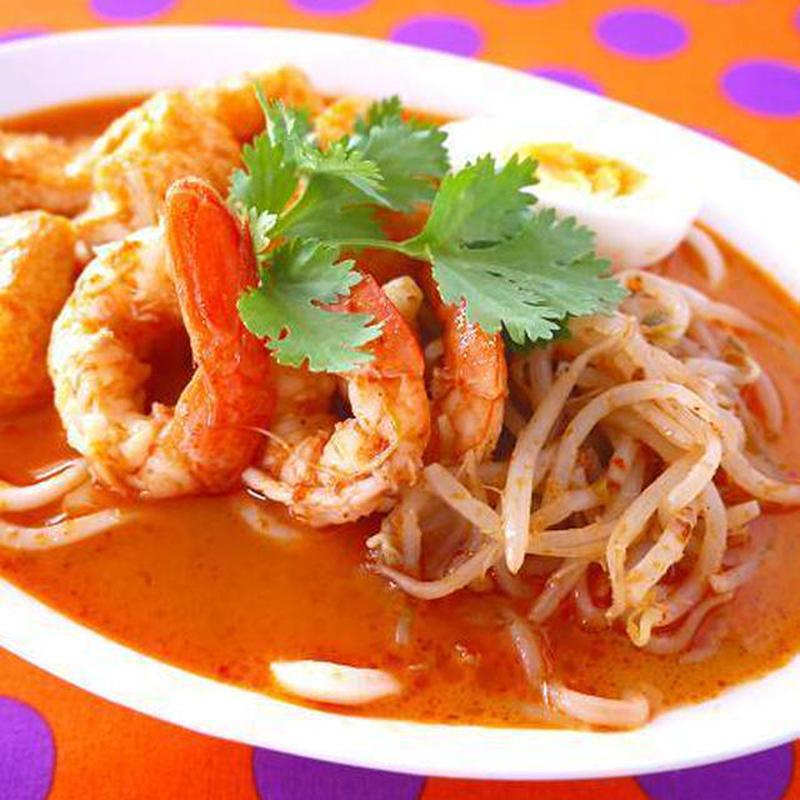 辛ウマ大好き♪エスニック麺「ラクサ」は、うどんでも中華麺でもおいしくできます!