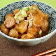 材料たった2つで満足おかず!鶏と里芋の煮物