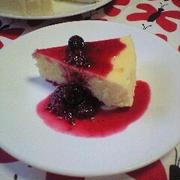 小麦粉・バターを使わない♪夫が心待ちにするNYチーズケーキ