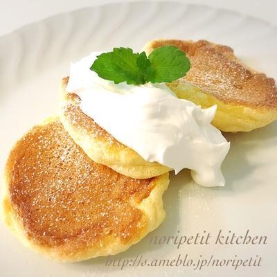 期間限定♡と幸せのパンケーキ風スフレパンケーキ♡