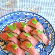 豪華見え!おもてなしにも使える「肉寿司」レシピ5選