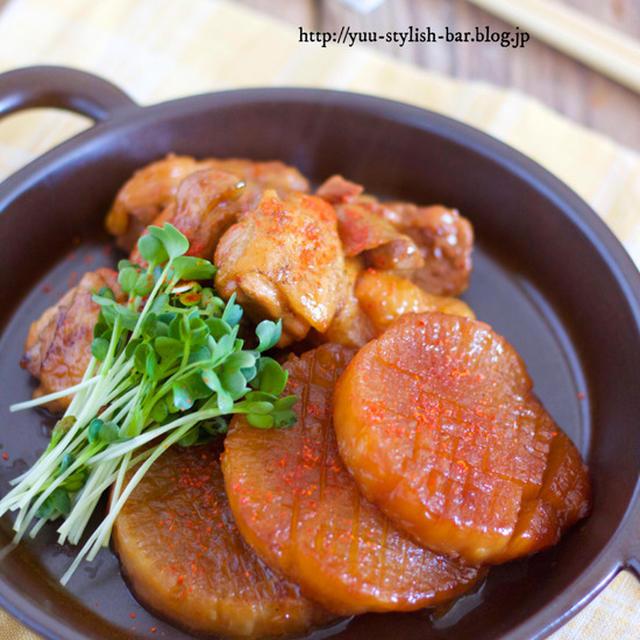 【レシピブログ連載】失敗しない煮物の基本テクニック♡『鶏肉と大根のコッテリ甘辛煮』