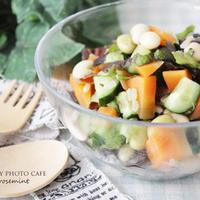 春野菜のグレインズチョップドサラダ