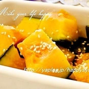 クックパッドでトップ10入り「納豆のタレde☆かぼちゃのマリネ」