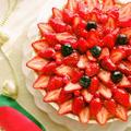 材料3つホットケーキミックスと炊飯器で超簡単お菓子♡サクサクタルト生地♡型不要ノンバター・ノンエッグ♪クリスマスに