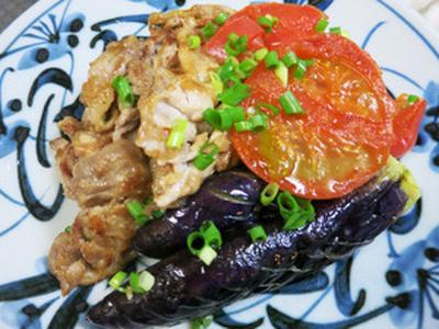 豚肉と夏野菜の元気ソテー