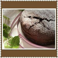 ミントの香りで~ミントチョコレートケーキ