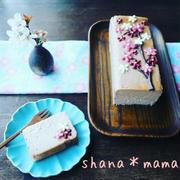 まったり濃厚~♪桜舞い散るいちごチーズケーキテリーヌ♪