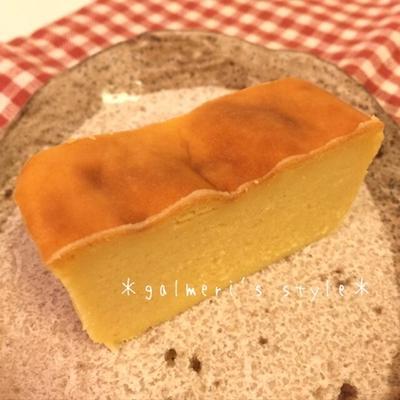 【週末のお菓子作り】バター・牛乳不使用♪さつまいもの簡単チーズケーキ