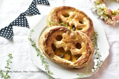 【レシピ】パイシートで手軽にかぼちゃパイ