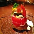 アボカドとトマトのカプレーゼ パルテノのとびっこソース 小幡 知哉シェフのレシピ