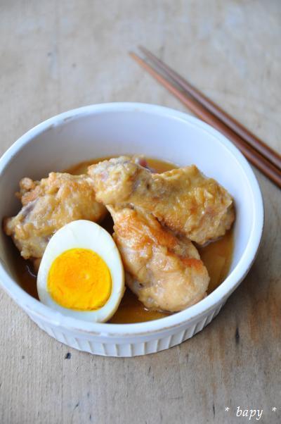 鶏のさっぱり煮、ベィピィ風。