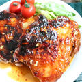 【簡単!おススメ!】基本の調味料2つ!ジューシー♪鶏モモのスイチリ照り焼き