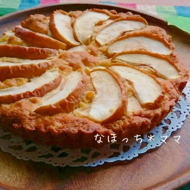 オーブンまで5分❤HMde簡単りんごタルト