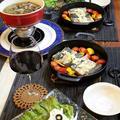 ◆秋刀魚のソテーと砂肝のアヒージョでおうちごはん♪~ゆるやか糖質制限中♪ by fellowさん