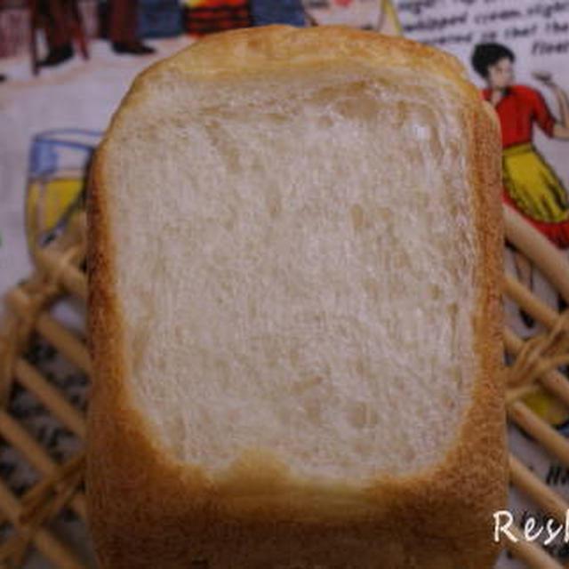 Eオリゴ糖ヨーグルト食パン (ホームベーカリーのレシピ)