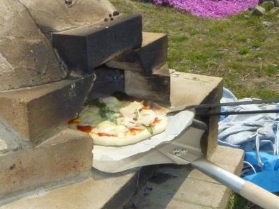 ピザ窯deピザ