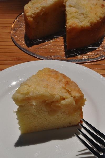アップルクランブルコーヒーケーキ