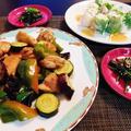 さっぱりがいいなで決まった海老と素麺の生春巻きが好評(*^-^)ニコ♪