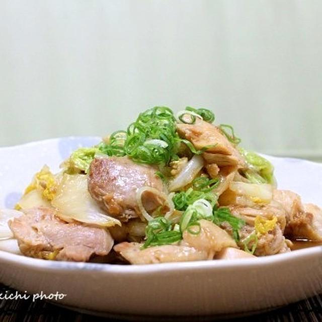 食感がいい「白菜と鶏肉のシャキッと煮」&やっぱり美味しい「ジュージュー鉄板ナポリタン」