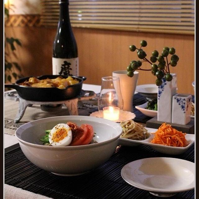 じゃが豚キムチーズ!と、韓国料理の夜
