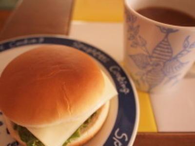 休日の朝食は・・・