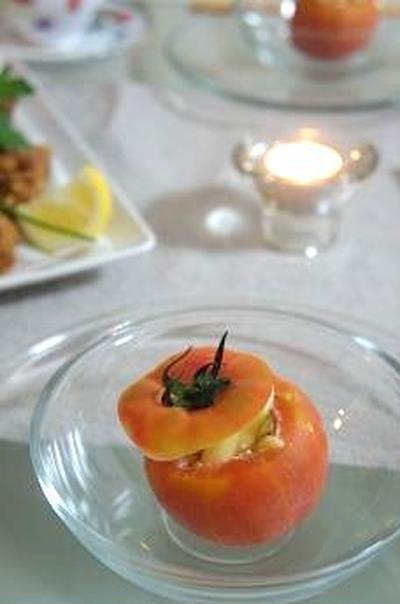 ペンネのトマトカップ(レシピ付)