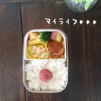 ☆幼稚園弁当に日の丸弁当。笑
