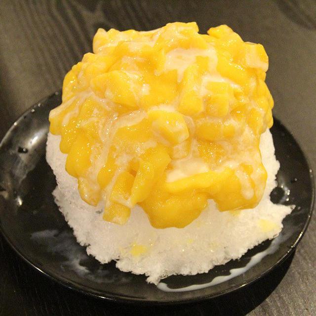 安いマンゴー缶でできる!!台湾風マンゴーかき氷を作ろう!!
