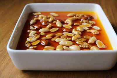 カラメルナッツかぼちゃプリン