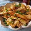 【レシピ】鶏むね肉で!柔らか甘辛チキンスティック!