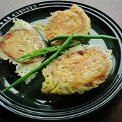 チーズの羽つきフレンチトースト〜オレガノ風味