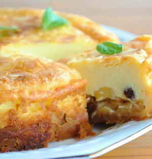 カラメルりんご チーズケーキ ☆