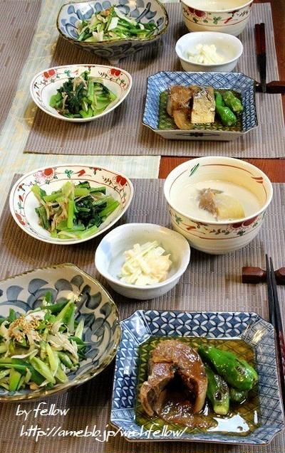 ◆鯖の生姜煮でおうちごはん♪~ゆるやか糖質制限中♪