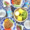 夏休みランチは野菜たっぷりのジャージャー麺