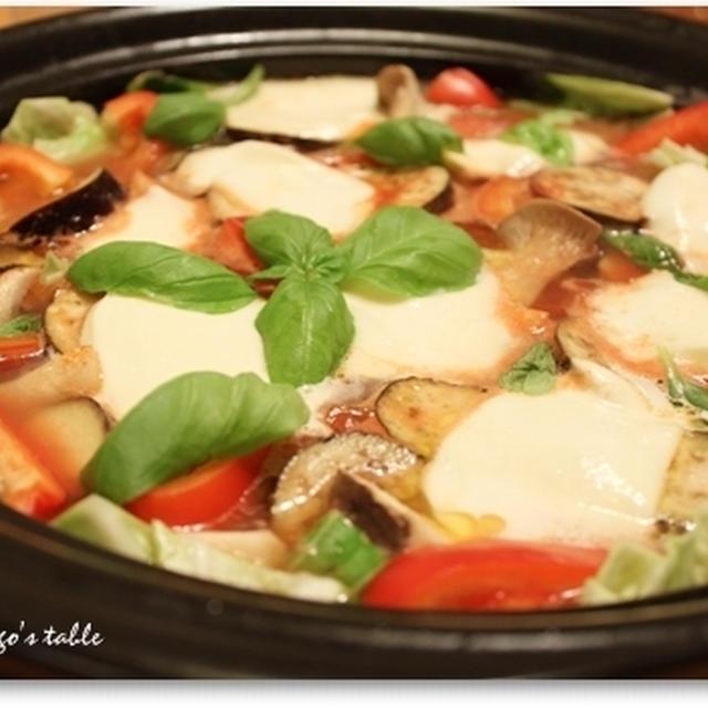 マルゲリータ風トマト鍋♪