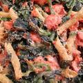 色鮮やか〜紅鮭とほうれんそうのグラタン by まゆニャンさん