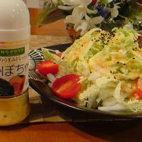白菜サラダ「野菜のうまみドレッシング」かぼちゃ。