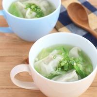 【#ぐんまクッキングアンバサダー】キャベツとぎょうざの生姜スープ