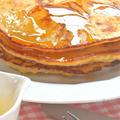 簡単&美味しい〜アメリカの朝ごはん!クローブ香るバナナパンケーキ。