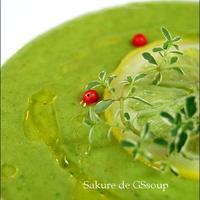GS風 ママ友ランチにサクレde簡単おしゃれ冷製スープ