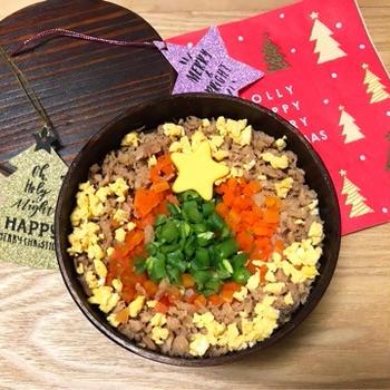クリスマスごはん〜和食だって盛り付け次第!〜